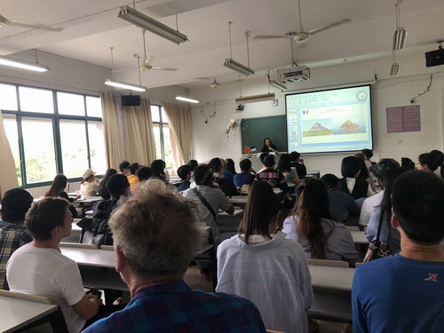 Lectures - China, France and Brazil - Cultural Collis...